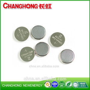 Changhong Hot Sale Coin Cell CR1632 3v 130Mah Lithium Bbattery