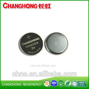3v coin Cell New Original Cr2025 150Mah Lithium Battery