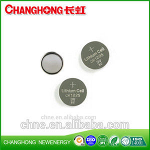 Changhong 3v Lithium Coin cell CR1225 48mah Battery