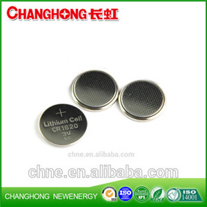 Changhong 3v Lithium Coin Cell CR1620 Battery