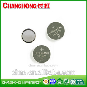 Changhong 3v Lithium CR1225 New Original Cr1225 3v 48Mah Lithium Battery