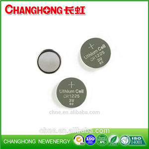 Changhong Button Cell Lithium Battery CR1225 3v 48Mah