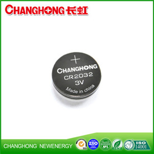 Changhong CR2032 3v Cell Battery CR2032 Button Battery Hot Sale