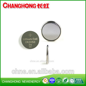 Changhong New Original Cr2450 3v 560Mah Lithium Cell Battery