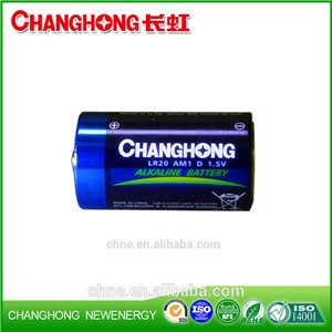 CE ROSH Factory Wholesale Industrial LR20 D Alkaline Battery Dry Battery