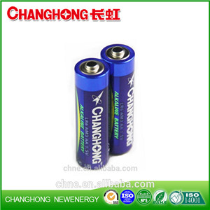 Super Power Alkaline Changhong Battery LR6 1.5v AA SGS