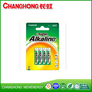Changhong Super Alkaline Battery LR03 4B