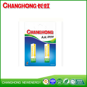 Ni-MH rechargeable battery HR6 (EH) 2B/4B