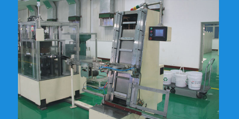 Automatic collecting machine