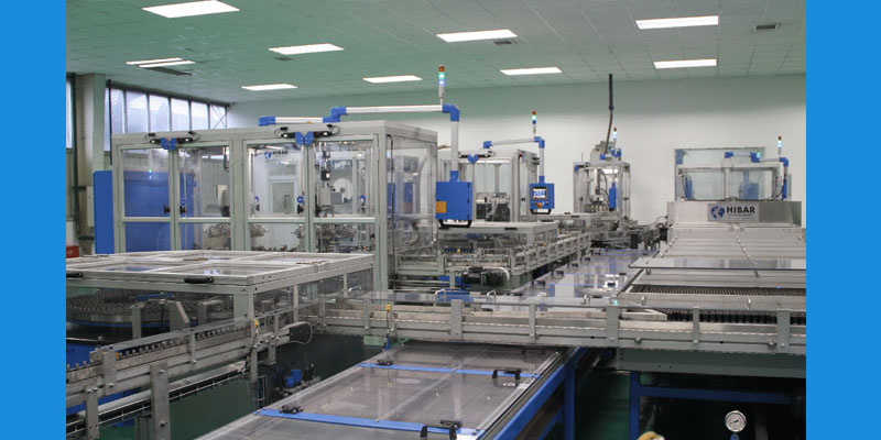 Overall perspective of the LR20,LR14,6LR61 production line